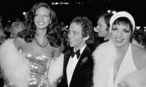 Berenson with Joel Grey and Liza Minnelli at the Paris premiere of Cabaret in 1972. Photograph: Bertrand Laforet/Gamma-Rapho via Getty Images