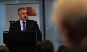 "Australian Federal Treasurer Joe Hockey speaks during a tax forum at a Price Waterhouse Coopers (PwC) luncheon in Melbourne, Wednesday, July 15, 2015. Mr Hockey has promised that his review of the tax system will not result in just more ""band-aid solutions"". (AAP Image/Mal Fairclough) NO ARCHIVING"