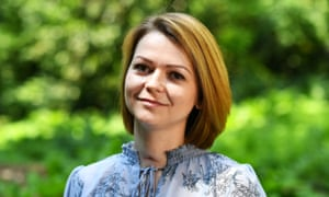 Yulia Skripal was contaminated with the nerve agent Novichok along with her father Sergei Skripal.