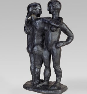 Study in racist soft porn? Study of Two Women, by Henri Matisse, cast in bronze in 1908.