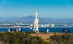 Cabrillo Statue, Cabrillo National Monument, Point Loma, San Diego, California, United States of America, North America