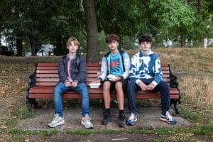 Freddie, Rob, and Te Keepa, 24 August.