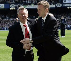 Alex Ferguson and his eventual successor David Moyes, in 2007.