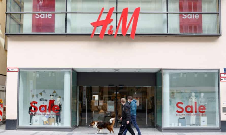 H&M store, Munich, Germany