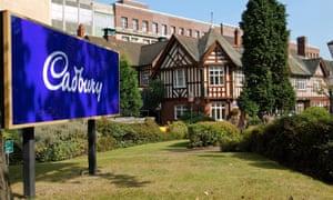 Cadbury's Bournville site in Birmingham.