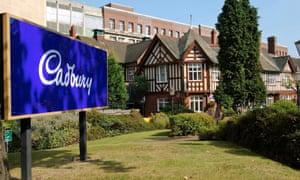Cadbury's Bournville site in Birmingham