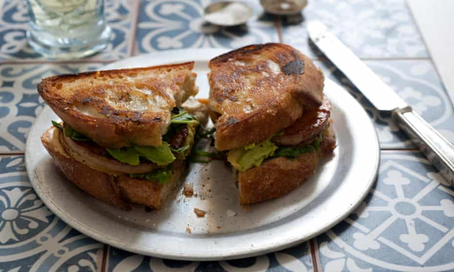 vegan toasted sandwich