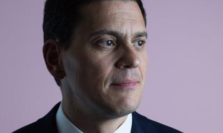 David Miliband: the most vulnerable pay for Trump's 'manufactured crisis'