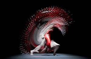 Dancers from Richard Alston Dance Company: Oihana Vesga Bujan