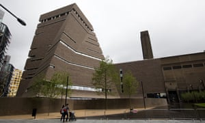 Tate Modern's new extension, the Switch House