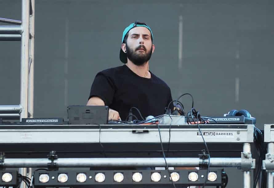 Asaf Borger performs at the 2015 Electric Zoo festival in New York.