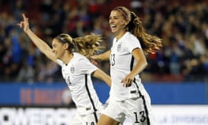 Alex Morgan and Morgan Brian are part of perhaps the deepest soccer team in the world.