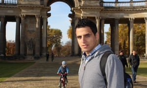 Syrian refugee student in Germany