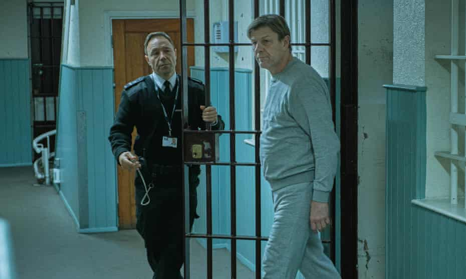 Stephen Graham and Sean Bean in Jimmy McGovern drama Time.