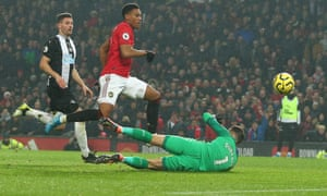 Manchester United 4 1 Newcastle United Premier League As It Happened Football The Guardian