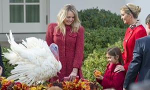 Tiffany and Ivanka Trump, with Ivanka's daughter Arabella.