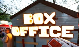 A fringe box office: veterans increasingly express fears the festival is becoming too big.