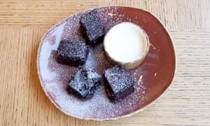 Chocolate cardamon cake