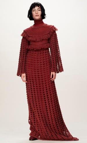 Ryan Roche's loose fit knitwear