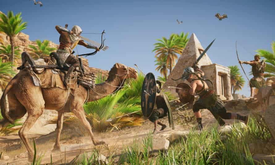 Assassin's Creed Origins wants to recreate the flora, fauna, architecture and culture of Ancient Egypt, and if you want to enjoy it without combat, there's a download for that