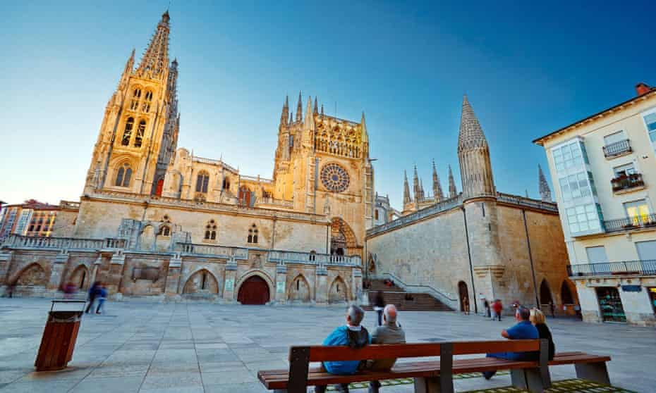 Burgos cathedral and square