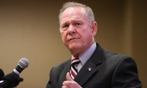 Judge Roy Moore, speaking on Saturday, said a Washington Post report about him was 'fake news'.