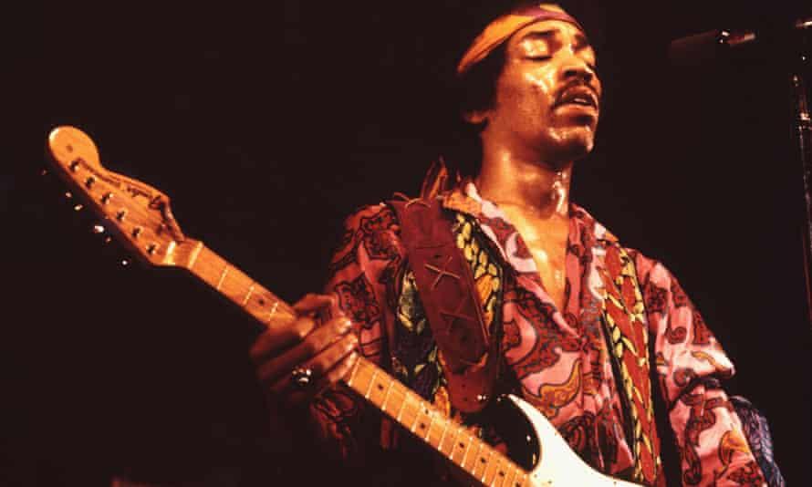 Jimi Hendrix in Copenhagen, 1970