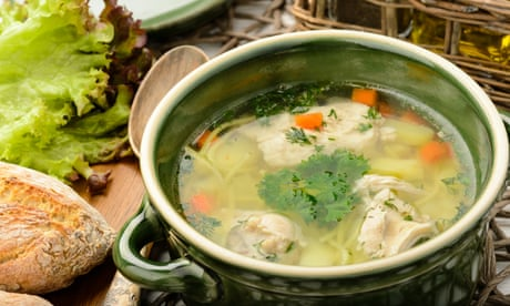 The best health foods? Soup, garlic and cake