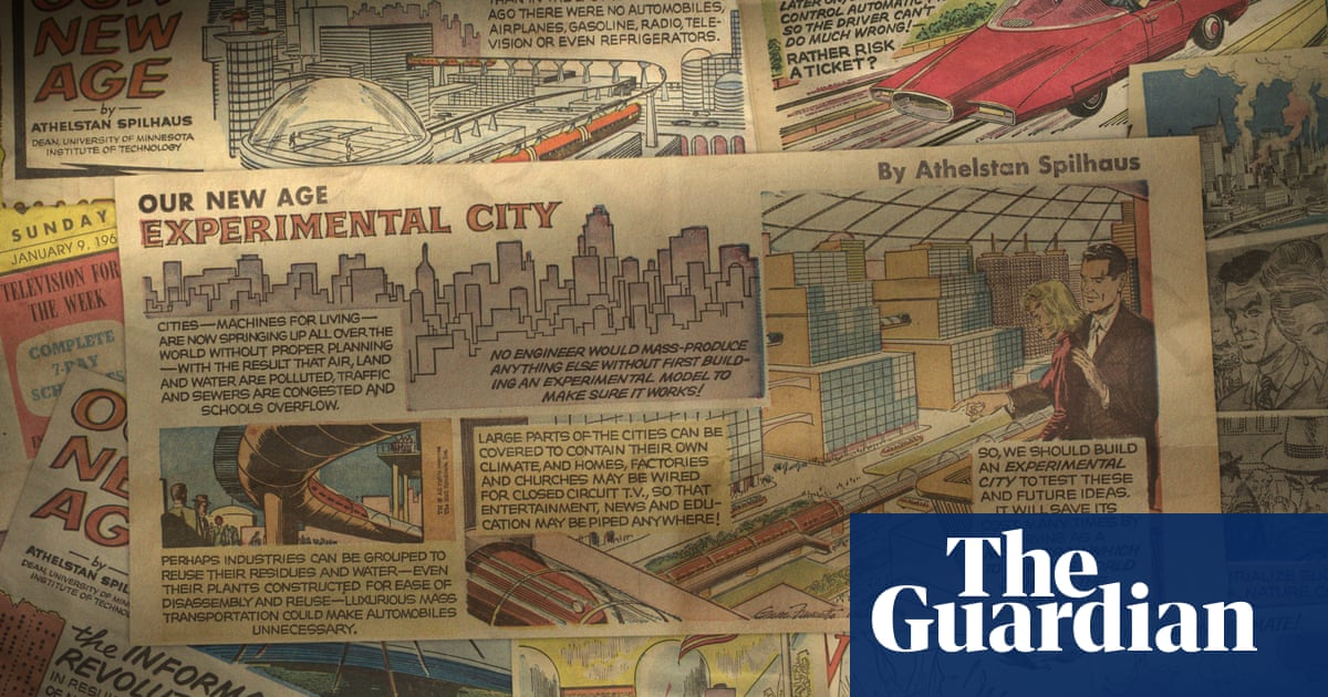 Minnesota Experimental City: the 1960s town based on a comic strip