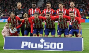 Plus500 is the shirt sponsor for Atlético Madrid