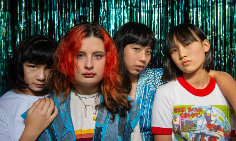 The Linda Lindas started playing together in 2018, as part of a pickup band for a Girlschool LA festival.