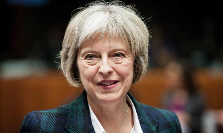 Theresa May hinted that forces would lose their separate firearms units.