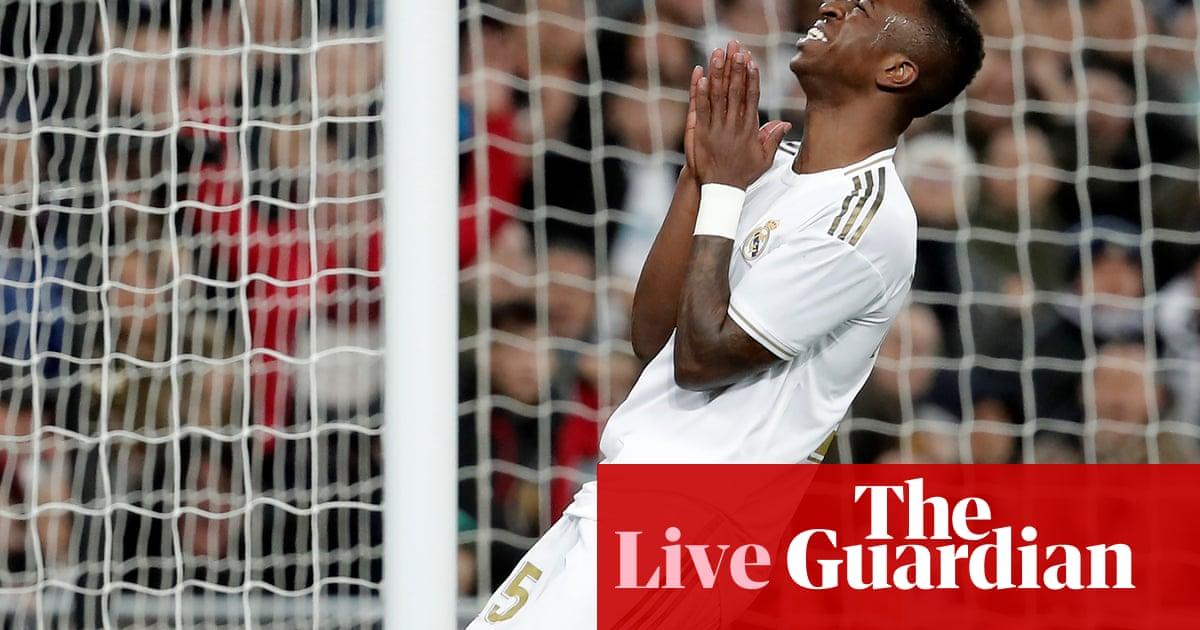 Real Madrid 0-0 Athletic Bilbao: La Liga – as it happened