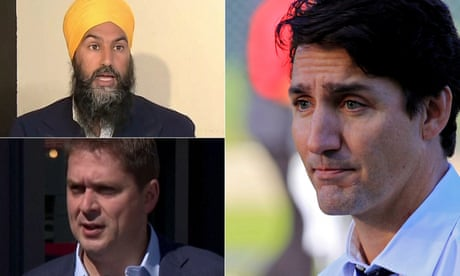 'Not fit to govern': opposition leaders react to Trudeau blackface images – video