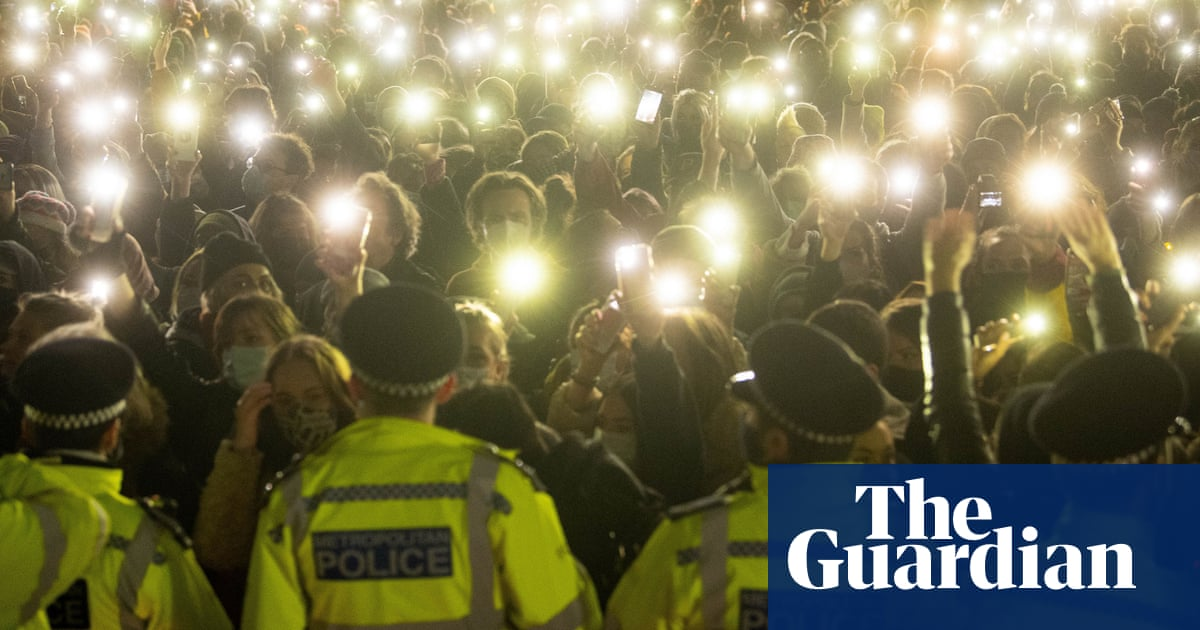 Inquiry condemns policing of Sarah Everard vigil and Bristol protests