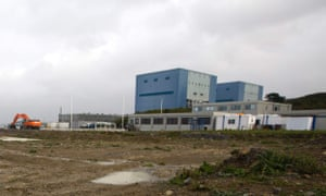 Hinkley Point A, next to land where the reactors of Hinkley C nuclear power station are due to be built.