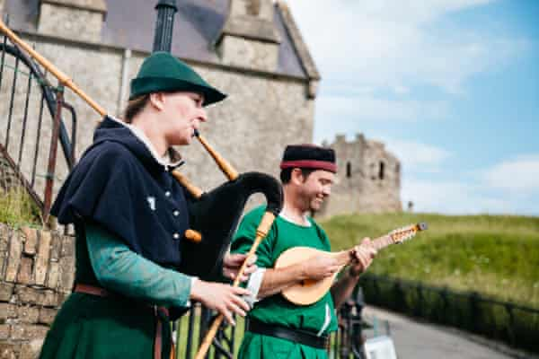 Musicians at Dover Castle