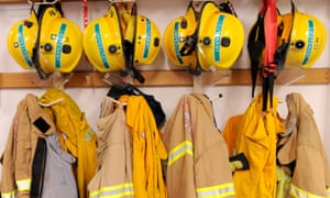 Four members of the Eaglehawk brigade of the Victorian Country Fire Authority have been stood down over 'appalling' hazing of a 17-year-old girl.