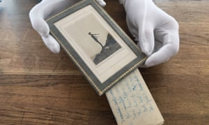 Two unknown poems by Daphne du Maurier were discovered behind a photo of her in a swimming costume. They are part of an archive of du Maurier material being sold at Rowley's in Ely, Cambs.
