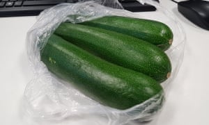 There are courgettes in Yorkshire.