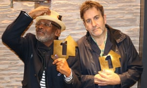 Lynval Golding and Terry Hall of The Specials