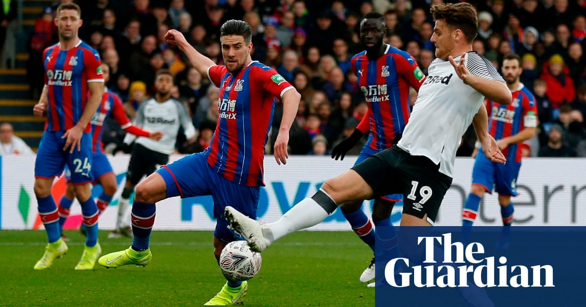 Chris Martin strike earns Derby shock FA Cup win at Crystal Palace