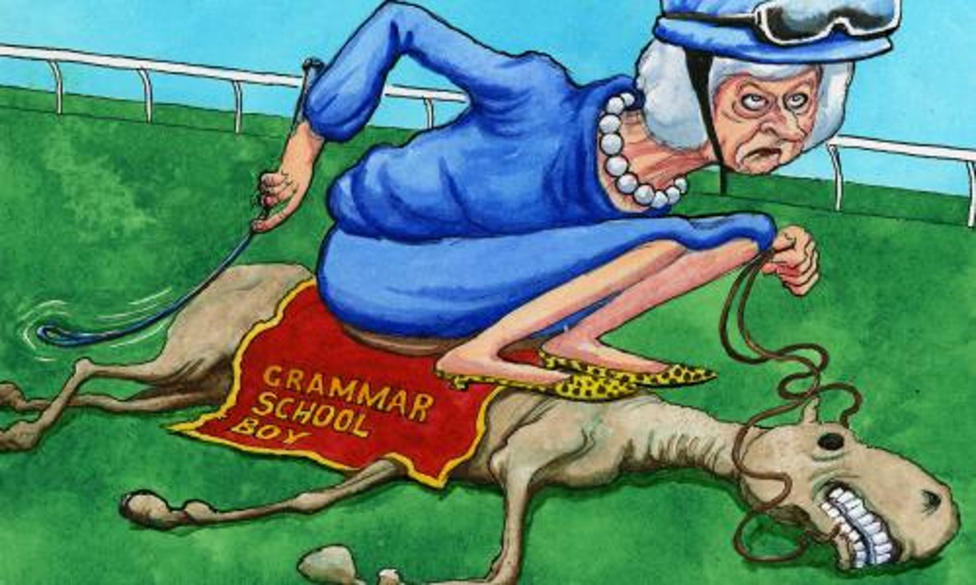 Image result for Boris Johnson' PUNISHMENT BY THERESA MAY CARTOON