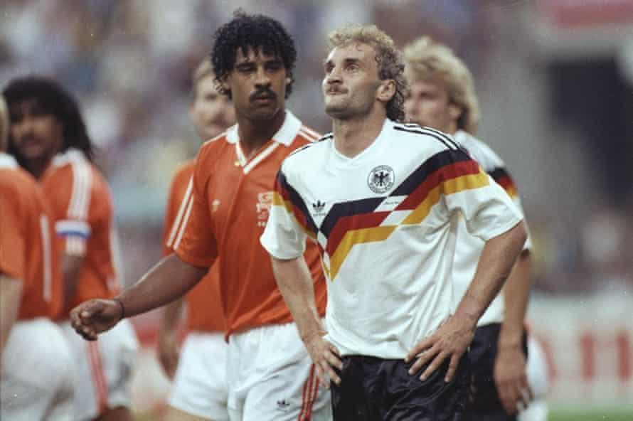 Rudi Völler and Frank Rijkaard.