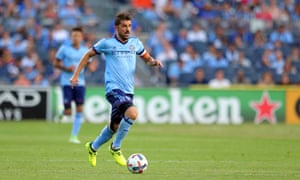 David Villa has been in prolific form for New York City in Major League Soccer.