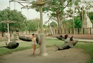 Plane Ride, Remedios, Cuba 1993