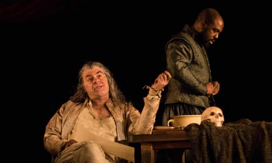 The Alchemist; Mark Lockyer as Subtle and Ken Nwosu as Face.