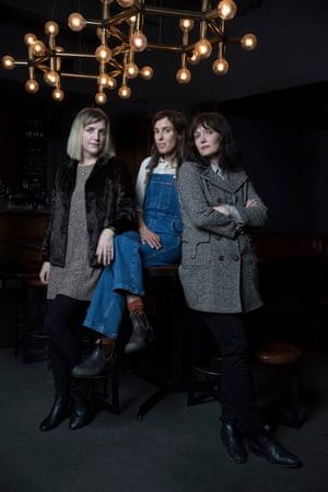 Sally Seltmann, Holly Throsby and Sarah Blasko at Golden Age.