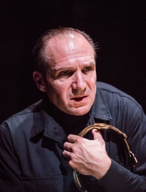 Ralph Fiennes at the Almeida. 'It is a masterly performance, full of lethal touches,' writes Susannah Clapp. 'Richard licks blood from the executioner's block. On becoming king, he simpers with false modesty, then raises a clenched fist.'