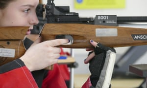 The Civilian Marksmanship Program claims that air rifle has one of the lowest injury rates of all youth sports